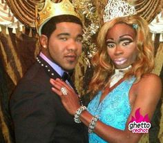 No, they just chose these two as king & queen just to get them up in front of everybody! Definite youtube material.