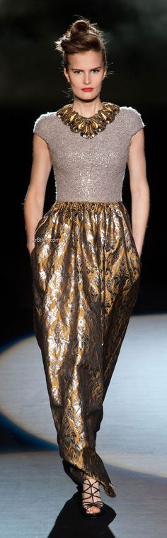 Badgley Mischka Fall Winter 2013