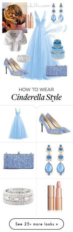 """Cinderella"" by aheavingham on Polyvore featuring Jimmy Choo, Sole Society, Natasha, Natural Life and Herend"