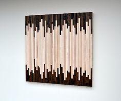 Wood Wall Art Wood Art Sculpture Reclaimed Wood di moderntextures