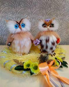 14 отметок «Нравится», 2 комментариев — Anna Magic Owl Flower (@magic.owl) в Instagram: «Из прошлых работ... Влюбленная обрученная парочка сов в ожидании крохи птенчика.. ❤ #сова #Совушка…»