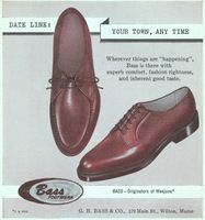 Bass Shoes 1959 Ad Picture