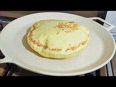 Αυτό το ψωμί θα φτιάχνετε κάθε μέρα! Χωρίς φούρνο - YouTube Brunch, Four, Ramadan, Pancakes, Cooking, Breakfast, Ethnic Recipes, Recipes, Bread Puddings