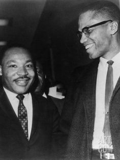 Martin Luther King Jr., and Malcolm X, 1964
