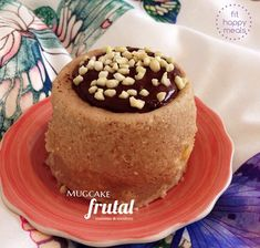 pastel en taza Snack, Food Preparation, Cheesecake, Clean Eating, Pudding, Yummy Food, Healthy Recipes, Meals, Sweet
