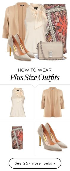 """Untitled #1214"" by earthlyangel on Polyvore featuring Etro, Ralph Lauren Black Label, Rupert Sanderson and Proenza Schouler"