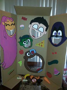 Teen Titans birthday game