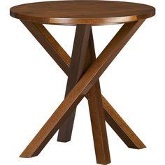 "Twist Table. 20"" dia. x 20""H"