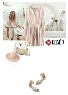 """oasap 17"" by saramoreira ❤ liked on Polyvore featuring Off-White and vintage"