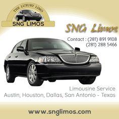 """""""SNG LIMOS"""" 24hr Airport Limo Service Houston Tx . http://www.snglimos.com/limousine-services-texas-houston-austin-san+antonio-dallas-usa/houston-limousine-service-airport.php . #houston_airport_transportation #texas_airport_shuttle_service #24_hr_limo_service_houston_tx #limo_service_to_and_from_airport #spring_houston_texas_airport"""
