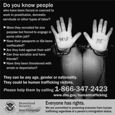 human trafficking information   Redefining the Face Of Beauty : PLEASE STOP HUMAN TRAFFICKING!