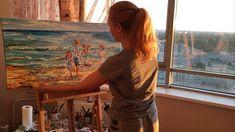 ". . Diana Malivani in her Artist Studio in Saint Petersburg - Painting ""En vacances"" on the easel - Work in progress . #artistdianamalivani #artist_diana_malivani #gwrartgallery #gwr_art_gallery #художник_диана_маливани . #artistsstudios #artistinstudio #easel #ontheeasel #onmyeasel #easelpainting #canvas #canvaspainting #canvaspaintings #paintingknife #artiststudio #artiststudios #artiststudiospace #artiststudiovisit #artistsstudio #artworkinprogress #womanartist #womanartists #womenartist… Saint Petersburg, Easel, Diana, Art Gallery, Studio, Canvas, Artist, Painting, Instagram"