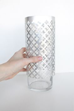 I think if you re-pin something twice it means you <3 ..DIY aluminum vase and utensil holder