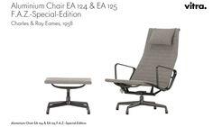 Der Eames Aluminium Chair als  F.A.Z. -- Sonder - Edition. Limitiert auf 777 Exemplare.