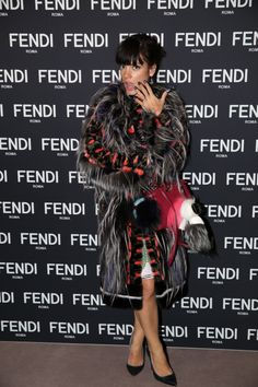 Lily Allen at the the new Fendi Boutique Opening party in London