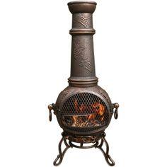 Nice cast iron chiminea