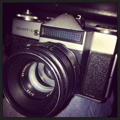Vintage Zenit camera