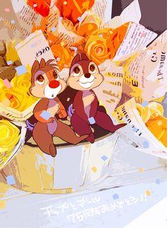 Disney Fan, Disney Love, Disney Mickey, Disney Princess, Cute Disney Drawings, Funny Drawings, Disney Images, Chip And Dale, Mickey And Friends