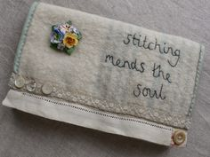 I've been busy stitching work for my stall at the Cotswold Vintage Fair in Toddington, Glos on Saturday 16th August...