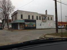 Greenberg's. Water & Cerro Gordo Sts Decatur Illinois