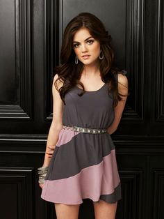 Lucy Hale as Aria Montgomery… my personal favorite of the four liars.