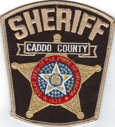 CADDO COUNTY SHERIFF DEPARTMENT (OKLAHOMA) POLICE/SHERIFF PATCH