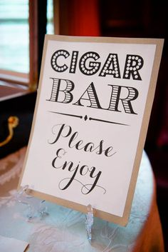 Cigar Bar Sign Wedding Printable (instant download) from PurplePeonyCouture on Esty #DIY #Wedding #CigarBar #Cigars #Matches #TableSigns #PleaseEnjoy #Printables #Washington #DC #Carnegie Photo by Alex Friendly Photography Our Wedding Day, Wedding Signs, Diy Wedding, Table Signs, Bar Signs, Big Red Barn, Wedding Printable, Cigar Bar, Esty