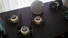 star wars cupcakes!  #starwarsparty