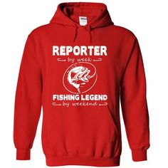 Reporter Tee and Hoodie T Shirts, Hoodies. Get it here ==► https://www.sunfrog.com/LifeStyle/Reporter-Tee-and-Hoodie-Red-Hoodie.html?41382