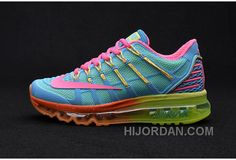 new concept 89bd7 12427 Find Latest Nike Air Max 2016 II Sneakers Nano TPU Material Moonlight  Orange Red Green Womens Running Shoes Online Sales 388710 online or in  Lebronshoes.