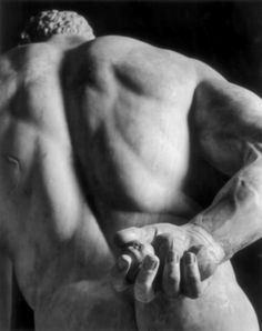 Hercules detail, The Farnese Collection, National Archaeological Museum, Naples