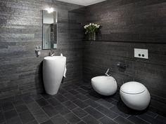 Minera Skifer Otta Skiferflis - Modena Fliser Toilet, Bathtub, Bathroom, Home Decor, Modern, Standing Bath, Bath Room, Homemade Home Decor, Bath Tub