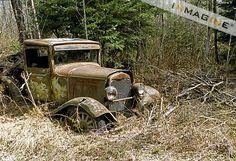 abandoned pickup trucks - Bing Images