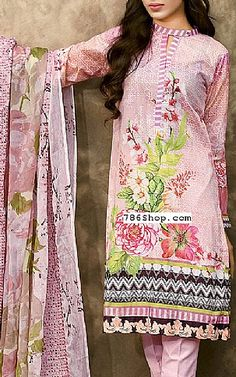 Pink Lawn Suit | Buy Gul Ahmed Dresses