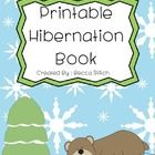 Printable book of hibernating animals!