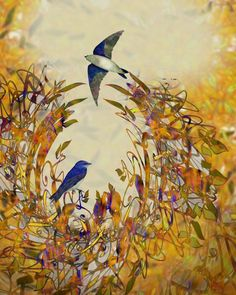 Swallow Tale Digital Art  - Swallow Tale Fine Art Print