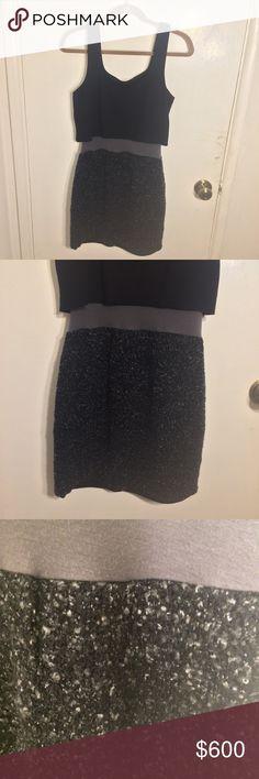 I just added this listing on Poshmark: Bailey 44 Layered Tweed Dress. #shopmycloset #poshmark #fashion #shopping #style #forsale #Bailey 44 #Dresses & Skirts