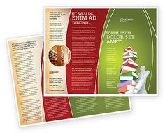 http://www.poweredtemplate.com/brochure-templates/education-training/03029/0/index.html Books Stack In Hands Brochure Template