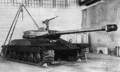 IS-6 prototype in factory