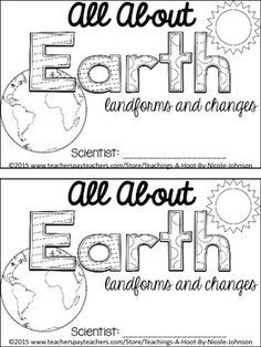 Fast and Slow Changes of the Earth-NGSS 2nd Grade