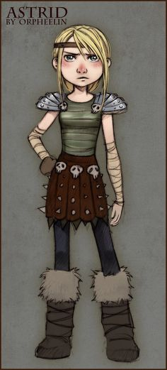 astrid how to train your dragon - this could be fun and office appropriate for Halloween Dragon Rider, Dragon 2, Female Characters, Cartoon Characters, Hiccup And Astrid, Dreamworks Dragons, Dragon Party, Geek Squad, How Train Your Dragon