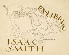 [Bookplate of Isaac Smith] | Flickr - Photo Sharing!