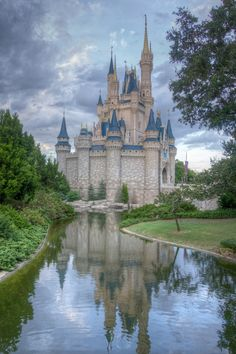 Cinderella's Castle at #wdw #disney