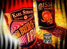 Aurora Hoppyalis, Karl Strauss, Au Consulat de la Bière. Ipa, Root Beer, Brewery, Aurora, Beverages, Canning, Mugs, Home Canning, Tumblers