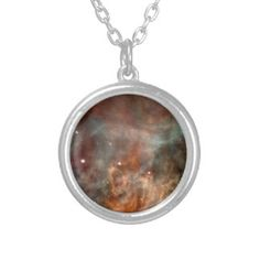 Carina Nebula Personalized Necklace