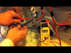 http://www.ApplianceRepairLesson.com    This video explains how to repair access and repair a standard Whirlpool built dryer that is not heating.  It will explain step by step instructions on how to test the thermostats, fuses, and heating element inside the dryer as well as show you access so you can replace the part.
