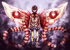What piques me is how Hinami inherited a chimera kagune of both her parents, but no other ghoul seemed to. She's special, seeing as how her senses are so strong. So, maybe her RC cells are mutated somehow? I'm interested to see how her character is expanded in TG:re.