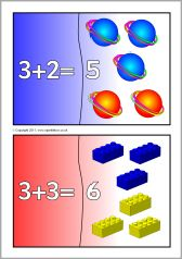 Addition mini jigsaws (totals to - SparkleBox Early Years Maths, Reception Class, Mini, Early Math