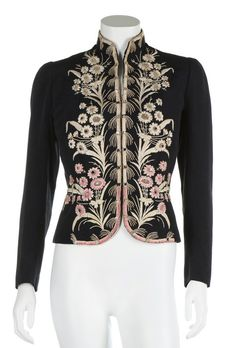 Elsa Schiaparelli couture daisy-embroidered jacket, Autumn-Winter 1937-38
