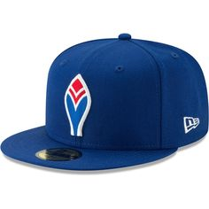 58af6764165 Men s Atlanta Braves New Era Royal Cooperstown Collection Alt Logo Pack 59FIFTY  Fitted Hat